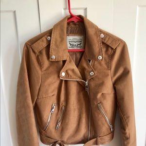 Levi Strauss faux suede Moto jacket
